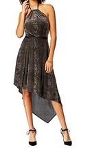 Rachel Rachel Roy Womens Velvet Halter Casual Dress Black M  2180-3 - $25.91