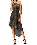 Rachel Rachel Roy Womens Velvet Halter Casual Dress Black M  2180-3 - $27.43