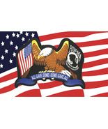 "Flag USA Pow Mia Eagle ""All Gave Some Some gave All"" 3 ' x 5' New - $10.99"
