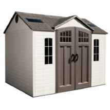 Lifetime 10x8 Side Entry Storage Shed w/ Floor [60178] - $1,595.95