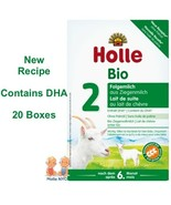 Holle Goat Milk Stage 2 Organic Formula with DHA 20 Boxes 400g Free Shipping - $499.95