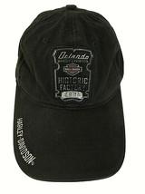 Harley Davidson Cap Hat HISTORIC FACTORY Black Orlando FL  - $19.80