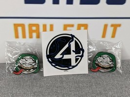 New Funko Pin Marvel Venomized Dr. Doom Common and Chase Glitter Set Exclusive - $16.99