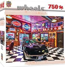 MasterPieces Wheels Jigsaw Puzzle, Black Beauty, Featuring Art by Linda Berman,  - $24.74