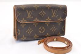 LOUIS VUITTON Monogram Pochette Florentine Bum Bag M51855 LV Auth 6625 - $481.89