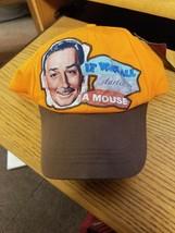 It all started with A Mouse Orange Strapback Adult Hat Cap Walt Disney Parks - $14.84