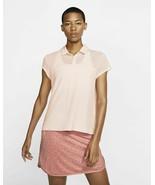 New Nike Flex Golf Polo Womens Medium Echo Pink AV3670 682 Extra Large XL - $45.00