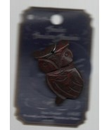 "Brown Owl Amulet - Stone Pendant - 2011 - Blue Moon - New! - 2"" by 1"". - $3.91"