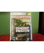 Tom Clancy's Ghost Recon  Platinum Hits (Microsoft Xbox, 2002) Good W/Ma... - $7.91