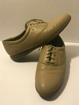 Easy Spirit Anti Gravity Tan Leather Lace Up Shoes Womens Size 8b - $19.34 CAD