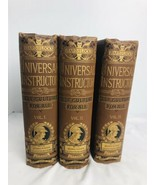 The Universal Instructor Self-Culture For All 1894 Ward & Lock's 3 Volum... - $183.15