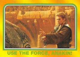 2004 Topps Heritage Star Wars #100 Use The Force Anakin! > Skywalker - $0.99