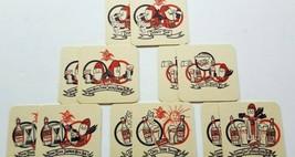 Lot Of 12 Budman Paper Coasters All Six Variations Budweiser Promo Ephemera B2 - $13.50