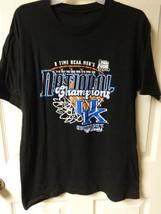 NCAA Kentucky Wildcats 2012 Mens Basketball Champs Size Mens Medium T-Shirt - $13.31