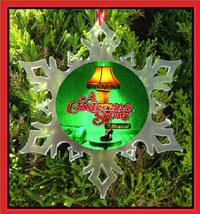 A Christmas Story The Musical Christmas Ornament - Broadway X-MAS Snowflake - $12.95