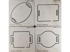 Provo Craft Cuttlebug Slider Dies, Set of 4 #37-1215