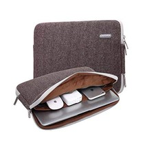 Computer Canvas Briefcase Great Gift 15 Inches Creative Laptop Bag Laptop Sleeve - $23.14