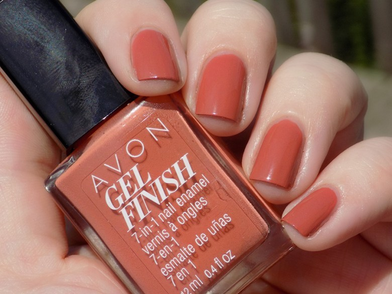 Avon Matte Black Nail Polish - To Bend Light