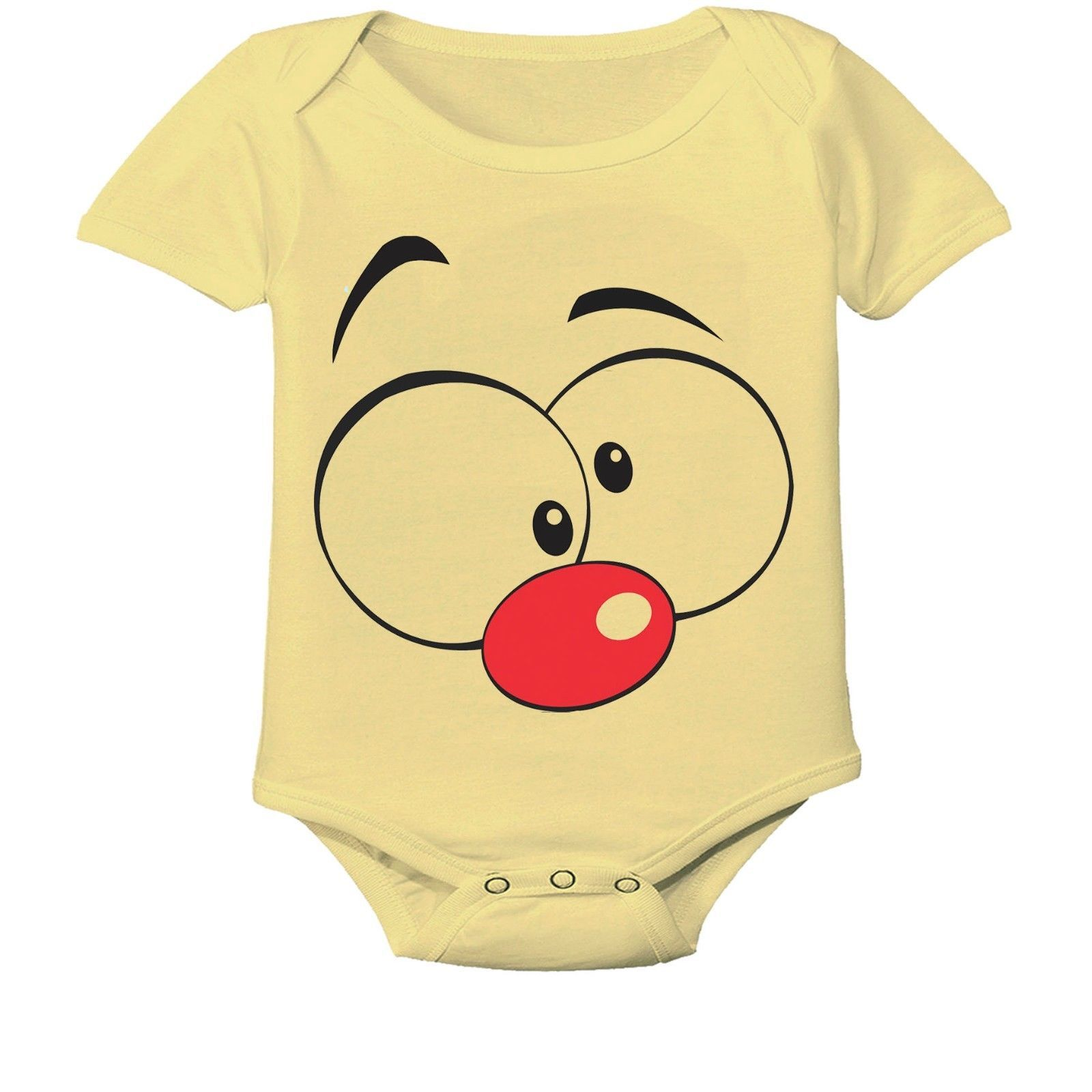 Face Cartoon, Cute Gift Baby Bodysuit By Apparel USA™