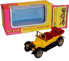 An item in the Toys & Hobbies category: Matchbox Models of Yesteryear Y-13 1911 Daimler in Box