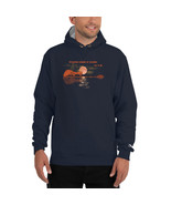Champion Hoodie - Whispers words of wisdom let it be acoustic Guitar Player - $64.99+