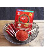 Natural Sanitized Red Hot Pepper Flakes Powder Gochugaru Spicy Korean Fo... - $32.31