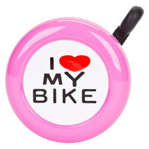 Sunlite Bicycle Bell-metal top with adjustable strap-PINK - $6.64