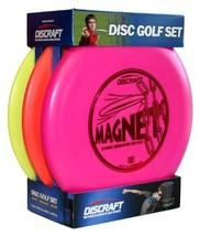 Beginner Discraft Disc Golf Set 3-Pack, 1 Driver, 1 Mid-range & 1 Putter... - $42.56