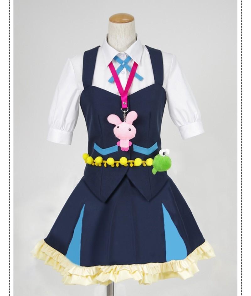 Kiznaiver Niko Niiyama Cosplay Costume Woman Girl Anime School Uniform Dress for sale  USA