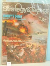 S&T #102 Montys D-Day The British & Normandy Invasion TSR 1985 Unpunched - $28.71