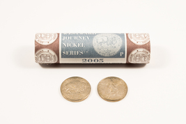 2005-P (American Bison) Jefferson Nickel 40-Coin Roll (Mint Wrapped) - $15.95
