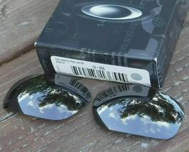 NWOT Authentic Oakley Racing Jacket Sunglasses Polarized Black Iridium Lens - $41.49