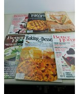 Vintage LOT of 6 Better Homes & Gardens Magazines Decorating Food Recipe... - $16.65