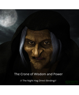 The Crone of Wisdom and Power  // The Night Hag Direct Binding //......... - $155.00