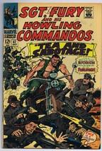 Sgt Fury and His Howling Commandos #47 ORIGINAL Vintage 1967 Marvel Comics - $14.84