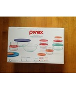 Pyrex 22-Piece Food Prep and Storage Glass Bakeware  New in Box  - $45.53