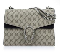 GUCCI Women's GG Supreme Shoulder Bag 403348 KHNRN 9769 - Authentic - $2,680.43