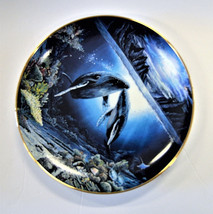 Danbury Mint Underwater Paradise Plate Set Robert Lyn Nelson with Boxes Lot of 5 image 2