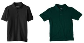 Boy's 4-7x Dockers Polo Shirt Regular Fit Short Sleeve Easy Care Cotton Blend