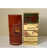 Vintage Yves Saint Laurent Opium 1.6 fl oz 50 ml Eau De Parfum Spray for... - $117.81