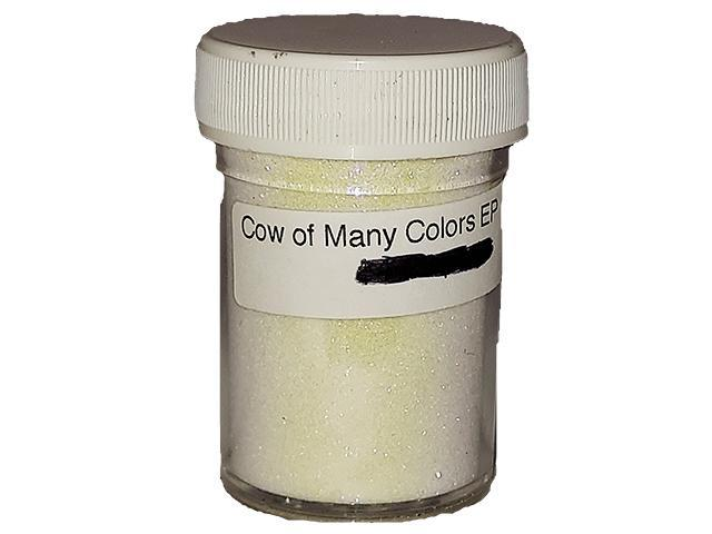 Sparkling Embossing Powder (Holographic), Cow of Many Colors