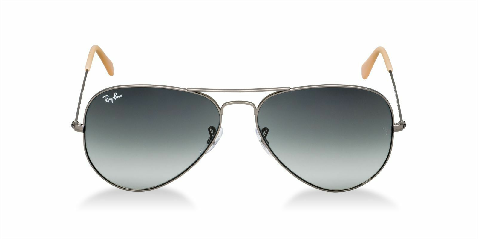 New Ray Ban Aviator RB3025 029/71 58mm Matte Gray w/Grey Gradient