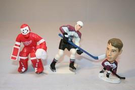 Lot of 3 NHL Hockey Player Figurines Action Figures OSGOOD & FORSBERG - $3.99