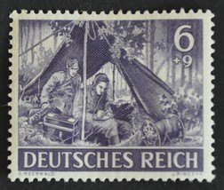 1943 Signal Corps Germany Postage Stamp Catalog Number B221 MNH