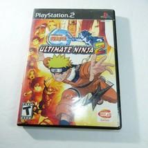 Naruto Ultimate Ninja 2 PS2 Playstation 2 Video game No manual - $4.94