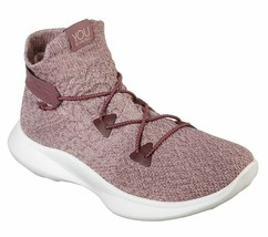 SKECHERS YOU WOMEN'S SERENE ADORNED SNEAKER MAUVE 6 M US - $54.44