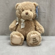 "GUND BABY GUND MY FIRST TEDDY 10"" PLUSH NWT - $11.97"