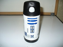 Thermos Star Wars S/S FUNtainer R2D2 Drink Water Juice Bottle 12 Ounce T... - $18.69