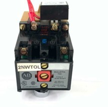 Allen-Bradley 700-P200A1 Ser B AC Relay w/ 700-N24 150V 35 VA Ser B-CHIPPED - $23.38
