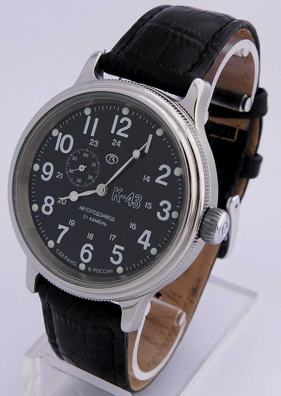 Vostok Retro Kirovskie K43 540854 /2415 Russian Classic Watch Black 1943 image 2